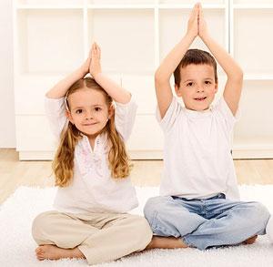 Детская школа йоги выходного дня с уникальным тренером в фитнес-комплексе LOrange Group