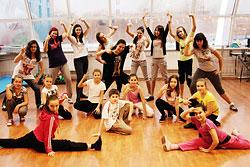 Танцевальная группа для детей и подростков в клубе «Мисс Фитнесс Марьино»