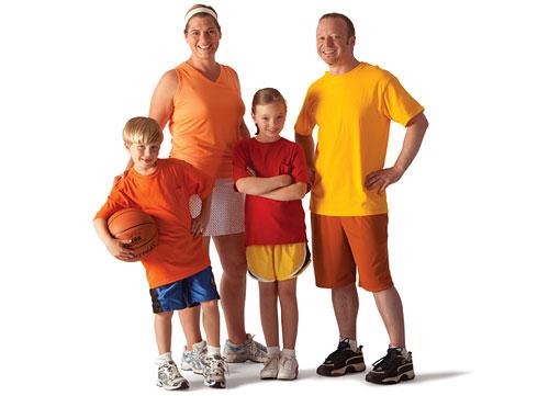 Отборочные соревнования «Семейные старты»