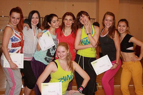 Анастасия Гаврикова сертифицированный инструктор по Zumba Fitness!