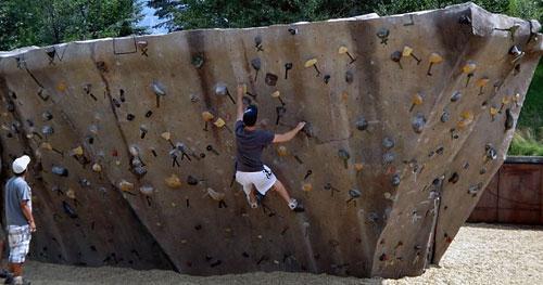 В парке «Царицыно» появятся тренажеры для скалолазов