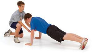Президентский фитнес-тест, который проводится для подростков от 10 до 15 лет.