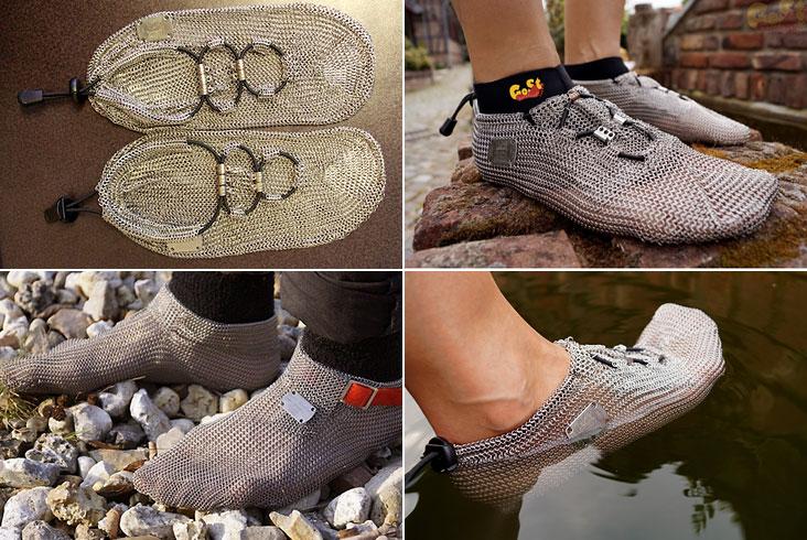 PaleoBarefoots — кроссовки из кольчуги