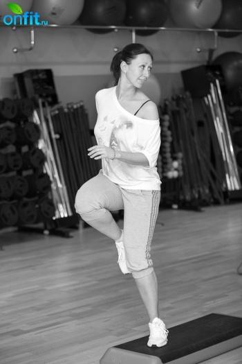 Для поклонников степа — новый мастер-класс Step-aerobic