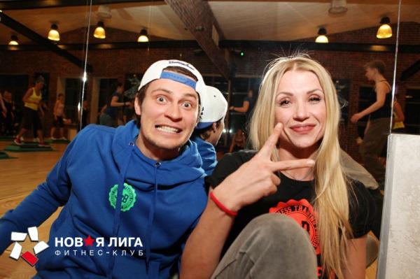 Dance-марафон в «Новой лиге»