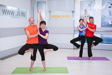 «Парная йога» — премьера на телеканале «ЖИВИ!»