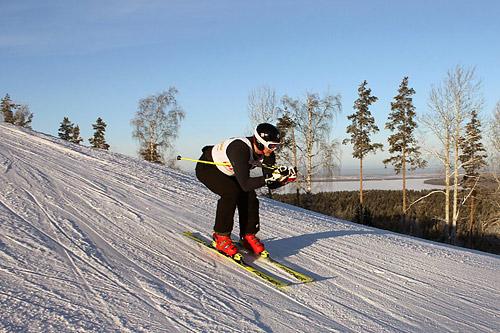 Открытые соревнования по горным лыжам на кубок «Красное Озеро»