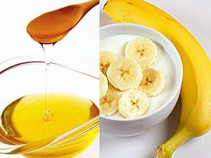 Фруктовые маски из бананов
