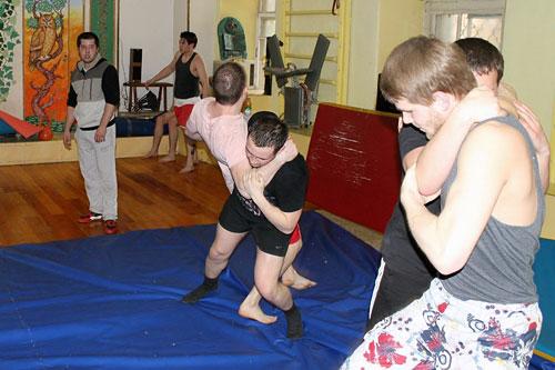 В Петербурге проходят бесплатные тренировки по боевым искусствам