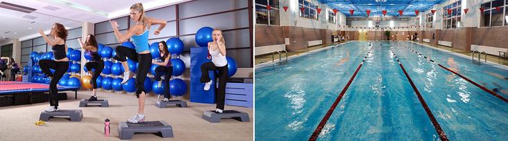 Фитнес с бассейном 25 метров в клубе Sportown в Кожухово! Занимайтесь фитнесом с утра до ночи!