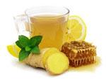 Имбирный напиток с медом