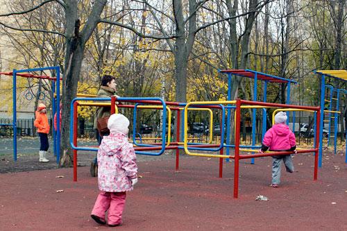 Уличный фитнес не пользуется популярностью среди москвичей