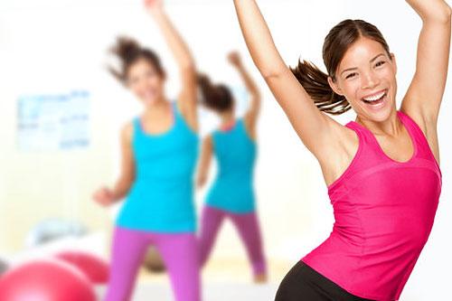 Боль после тренировки снимет... фитнес!