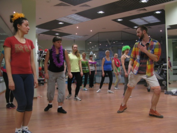 Зажигательная вечеринка прошла 12 апреля в клубе Fitness One Красногорск!