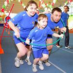 Спортивный праздник, посвященный Международному дню семьи — «Папа, мама, я — спортивная семья»