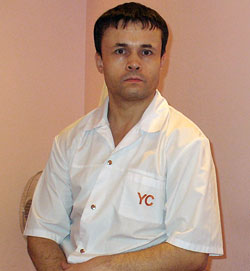 Григорий Щербаков, врач-остеопат