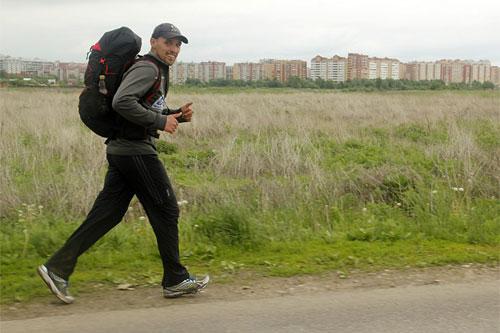 Российский экстремал пробежит 1600 км за 15 дней