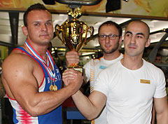 Соревнования по АРМ-спорту на Кубок I Love Fitness