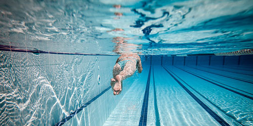 Режим плавания: Умеренный без ускорений (анаэробно-аэробная и аэробная работа).
