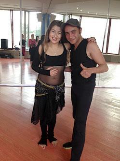 Мария Порохня заняла 2-е место на фестивале восточных танцев!
