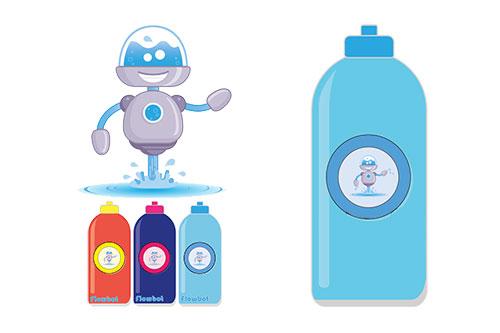 Новая бутылка побудит детей пить больше воды