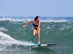 Серфинг на 9 см шпильках? Невозможное возможно!