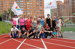 Открытие летних тренировок на открытом воздухе!