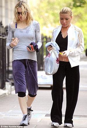 Звездный тренер Трейси Андерсон с Мадонной