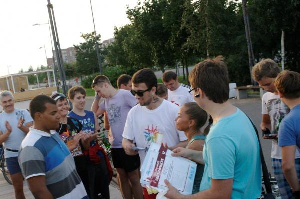 В Петербурге состоялся первый фитнес велопробег