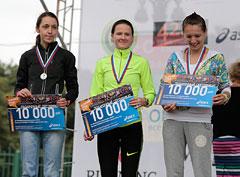 Полумарафон «Осенний гром» в Москве