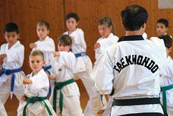 Открытие детской студии в фитнес-клубе «Сказка»