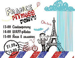 France Fitness Party