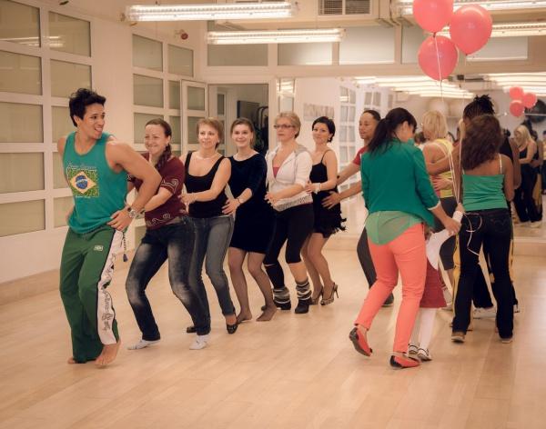 Танцевальная вечеринка в стиле Zumba