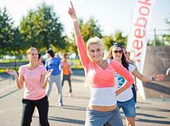 Reebok Fitness Weekend в Петербурге