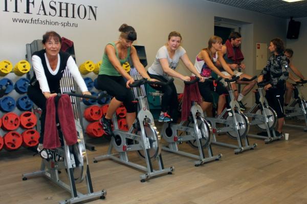 Первый осенний марафон в FitFashion «Ginza Fitness»