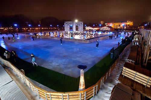 15 ноября в Москве вновь заработает самый большой каток в Европе