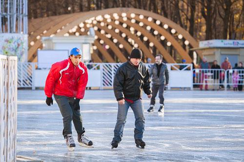 Открытие зимнего сезона в «Сокольниках»