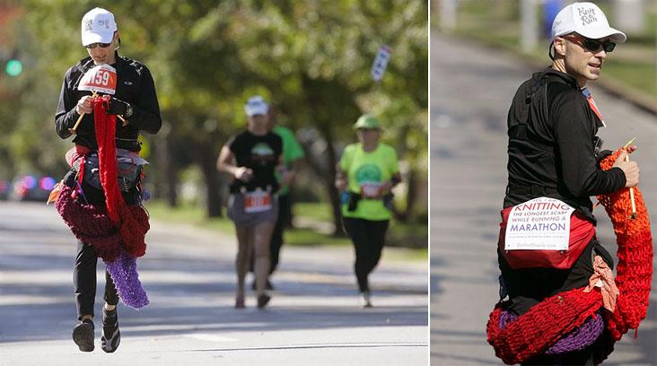 Поклонник фитнеса и рукоделия установил новый рекорд