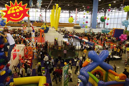 Бесплатный вход на выставку детского активного отдыха «Спортлэнд»