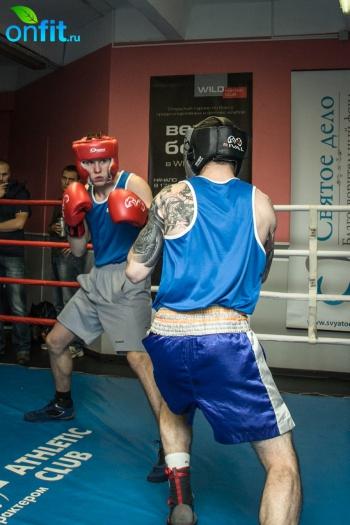 Открытый турнир по боксу «Вечер бокса» в Wild Athletic
