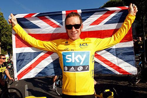 33-летний победитель Tour De France Брэдли Уиггинс