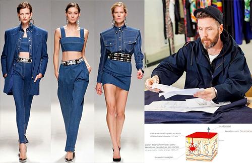 На модном показе представили первые в мире джинсы против целлюлита