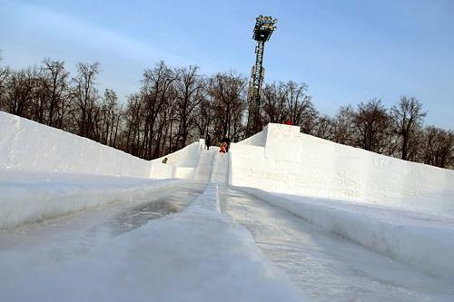 «Зимние забавы» снова в Лужниках