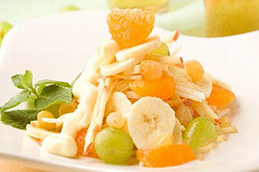 Витаминный салат из мандаринов