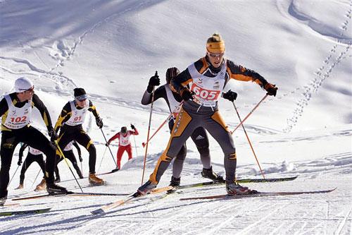Лыжные гонки. 22-й Московский классический марафон