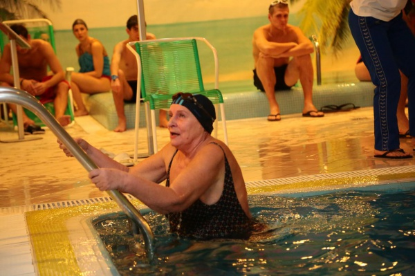 Открытый чемпионат по плаванию