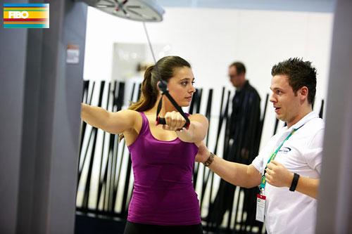 Функциональный тренинг на FIBO 2014