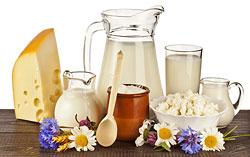 Молочные продукты  Кальций, которым они богаты, помогает расщеплению жира в жировых клетках, а стало быть, способствует снижению веса.