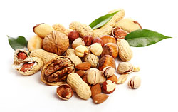 Орехи  Продукты хорошим тем, что помогают быстро утолить голод.