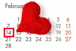 В преддверии Дня Святого Валентина мы объявляем акцию — «14 февраля — 14% скидка»!